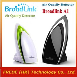 Wholesale Broadlink A1 wifi Air Purifier Intelligent smart home Automation E air Air Quatily Detector Testing Air smart phone remote