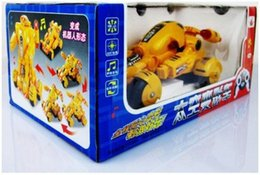 [Hot sale] [New arrival] Remote control electric deformation car toy Space deformation car toy Plastic module car