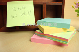 Wholesale Mini Order Diamonds Stickers Memo Sticky Notes Portable Post It Notes Bookmark Marker Home Office Color Random
