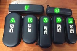 Large Medium small 7 Size EGo Zipper Leather Case Pouch W  Mesh Pockets For Electronic Cigarett E-Cig Ego Vapor Pen Case Colorful DHL