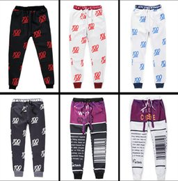 Hot sale men women 100 emoji jogging pants print cartoon emoji fashion gym running sport sweatpants mens autumn winter joggers