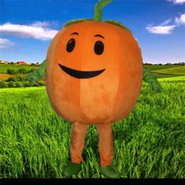 Costume Halloween Adult Women Cosplay Dress New Hot the pumpkin Mascot Cartoon Fancy Dress Halloween Costume Pumpkin Costume Suit