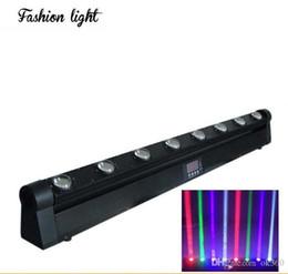 NEW 10W * 8PCS 4IN1 RGBW LED Cree Lyre faisceau Light Bar, LED Huit faisceau lumineux, DMX éclairage de scène à partir de rgbw conduit faisceau mobile de la tête fabricateur