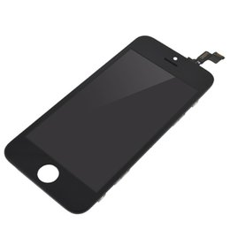 NO Dead pixel LCD Display For iPhone 5S SE LCD Screen Touch Digitizer Screen with Frame Assembly Black
