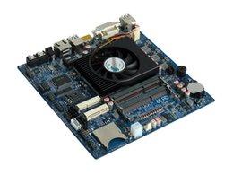 Wholesale M433 ITX HCMT3X21A AMD Kabini Quad core COM SATA USB3 USB2 GPIO Mini PCIE SD Slot V DC DDR3