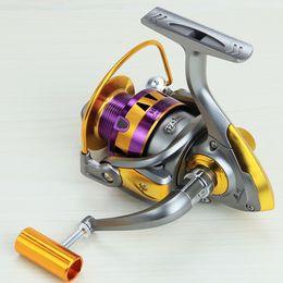 Carrete de la pesca de la serie de la serie HB 12BB + 1 que lleva las bolas Rueda de pesca de la bobina de giro de la serie 1000-7000 desde bolas de rodamiento fabricantes