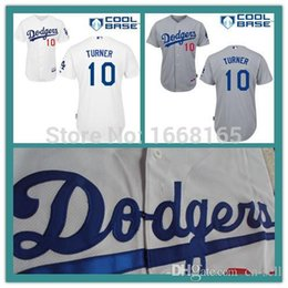 Wholesale 2015 New Hot Sale Los Angeles Dodgers Justin Turner Jersey Men s Authentic stitched Embroidery baseball jerseys Mix Order