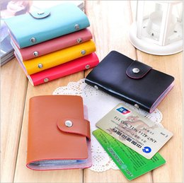Wholesale Card bag for Bank cards Holder credit cards Velour Leather Case Membership Card sets Colors in Best Quality Price with cards pack