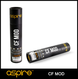 Wholesale - 100% Original Aspire CF Mod 18650 Battery E Cigarette Mod Aspire Mod Mechanical High Quality