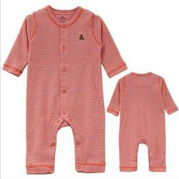 Wholesale G Brand Body para bebe100 Cotton baby clothes Easy on Easy off Piece Outfits Fifth Sleeve roupas de bebe recem nascido