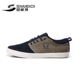 Wholesale-SIWEIQI Stylish Dark Blue ens Skateboarding Shoes Comfortable Outdoor Walking Shoes for Men EUR Size 39-43 SD8115-2