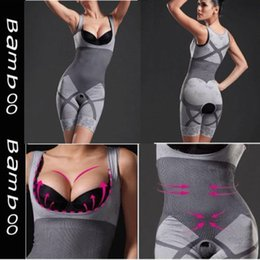 Wholesale Natural Bamboo Charcoal Slimming Body Shaper S XL