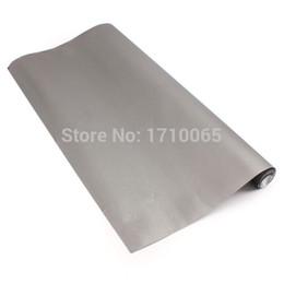 Wholesale Light Gray Vinyl Sheet Vehicle Car Decal Steel Vinilo Pegatinas Stickers Decals Car Roll Wrap Sticker Auto Skin x152cm DIY