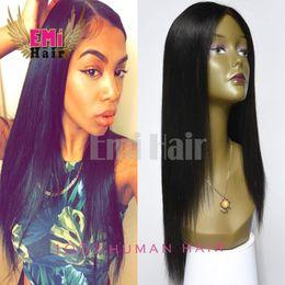 Wholesale Malaysian Straight Hair Coarse Virgin Yaki Hair Emi Hair Products Brazilian Light Straight Human best Hair Italian Yaki For Black Women