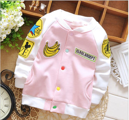 Wholesale new winter coat baby girls banana hi cardigan cashmere sweater coat not thickened