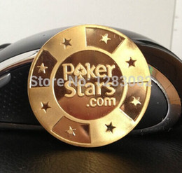 Gold Plated Poker Cards Guard Protector Poker Star Metal Chip Poker Token Coin 20pcs lot Free shipping