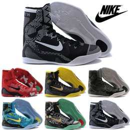 Wholesale Nike Kobe IX Elite XDR Basketball Shoes For Men New Cheap Original Sneakers Mens Hight Cut Brand Trainers Boots