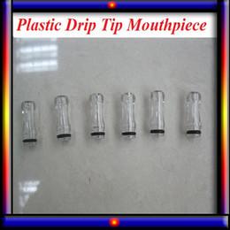 Wholesale Plastic Drip Tips transparent Colorful Mouthpiece Plastic Drip Tips for EE2 Vivi Nova DCT for ego starter kit e cig