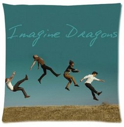 Wholesale Grammy Award The best Rock Band Soft Zippered Pillowcase Rectangle Size X18 Inch Twin Sides Printing