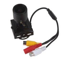 Wholesale 700TVL HD CMOS Mini CCTV Camera with mm Manual Lens for Audio Video Color Security Surveillance CCTV Camera