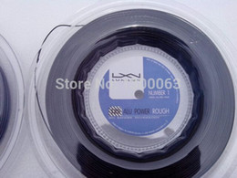 Wholesale 2014new Luxilon big banger alu power m Silver L tennis string Original not copy