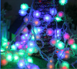 5M40 led maomao ball battery light holiday lights Christmas tree lights decorate the party led twinkle light waterproof lamp bar chandeliers