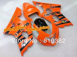 Wholesale HOT trim kit for SUZUKI GSXR adjusted GSXR600 GSXR750 GSX R600 K4 Orange black paneling SW86