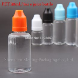 Wholesale Best Selling Product ML PET Dropper Bottles With Colorful Cap And Long Thin Tip Liquid Needle Bottles For E Cig