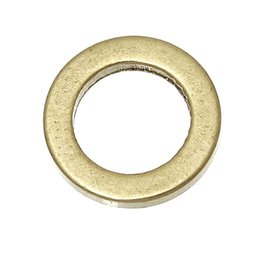 """Wholesale Copper 8mm Jump - Brass Closed Soldered Jump Rings Round Brass Tone Blank 8mm( 3 8"""") Dia, 300 PCs 2015 new"""