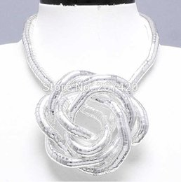Wholesale Hight Quality mm cm Silver Plated Iron Flexible Bendy Snake Bendable Necklace pack