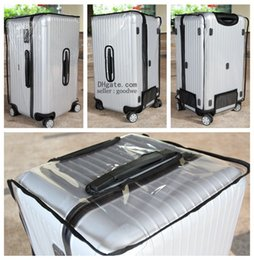 Wholesale Clear Protective Skin Cover Protector for RIMOWA Salsa Sports Luggage Best Fits Sports fans water proof dust proof anti scratch