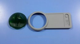 Wholesale 2015 hot sale ATM Bezel Overlay NCR Frame with Green apple atm skimmer
