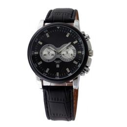 Wholesale new luxury men quartz watch sell like hot cakes Brand fashion bowl of table Japanese quartz clock leather strap caivnk351