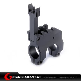 Wholesale Hunting accessories Folding AR15 Gun Sight Tower Gun style flip front sight for picatinny rail GTA1257