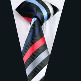 Mens Multi Tie Set Wholesale Tie Black Jacket Single Neckties Men High Quality Ties Woven Silk Jacquard Beck ties D-1085