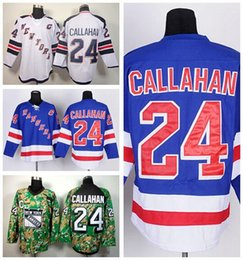 ... NHL Jersey factory outlet new york rangers jerseys eishockey 24 ryan  callahan jersey stadium serie blau weiß ...
