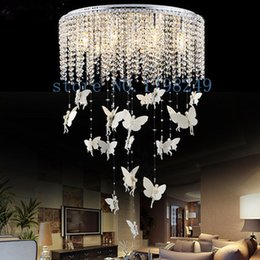Wholesale Free delivery led to absorb dome light Simple sweet new angel droplight Crystal lamp act the role ofing