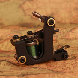 Wholesale Brand New CNC Crafted Premium Quality Stable Work Shader Wraps Coil Mini Tattoo Machine