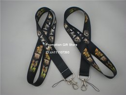 Wholesale 35PCS Lot Star Wars Polyester Lanyard, Cell Phone Strap With Metal Buckle,Thermal Transfer Lanyard, Black Colour