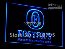 Wholesale a014 b Foster s Australia Beer Bar Pub Neon Light Signs