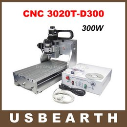 Wholesale 300W DC power spindle motor cnc router engraver CNC T D300 upgraded from CNC T