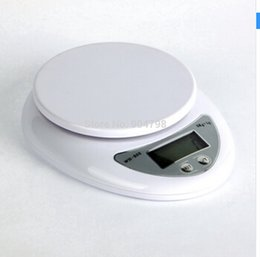Wholesale Best selling freeshipping g g kg Food Diet Postal Kitchen Digital Scale scales balance weight weighting LED electronic