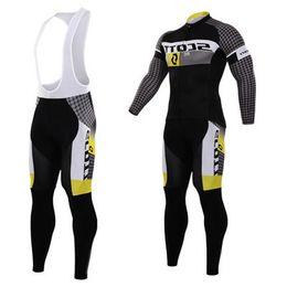 Wholesale-new arrive 2015 cycling Team jerseys sets Long Sleeve Racing bike clothing Mountain bicycle jersey sportswear men biking Clothes