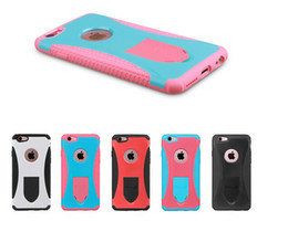 Redpepper Case For Iphone 6 Plus 5.5 Shockproof Hard PC TPU Back Cover For Iphone 6 4.7 Retail Package High Quality