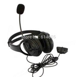 Black Headset Headphone Earphone Microphone for Microsoft Xbox 360 Live Game earphone cushion microphone connector