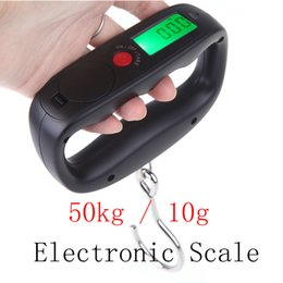 Wholesale 50kg g Digital weighing scale Electronic Hanging Lage Balance Weight Drop Shipping