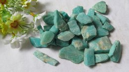 Wholesale Natural amazonite nunatak wheel ore Quartz Crystal Point China Quartz Crystal Stone chakra ore energy stone Price