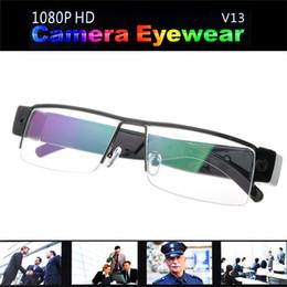 Vendedora caliente HD 1080P Gafas espía oculta cámara del deporte DVR grabadora de vídeo DV Cam Gafas de DHL hot selling spy camera on sale desde cámara espía venta caliente proveedores