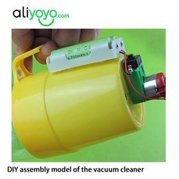 Wholesale Diy portable handmade small production technology electric vacuum cleaner toy eco friendly small