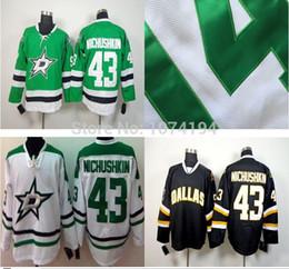 Wholesale Dallas Stars Hockey Jerseys Discount 43 Valeri Nichushkin Jersey Cheap Sale 2014 New White Green Black Stitched Jersey